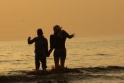 Fotograferen bij tegenlicht/zonsondergang